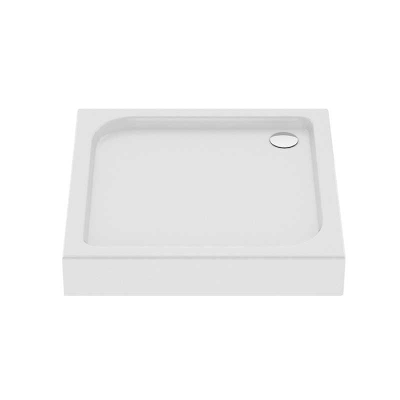 New Trendy | Brodzik kwadratowy DOMIO  80 x 80 x 16cm   B-0347