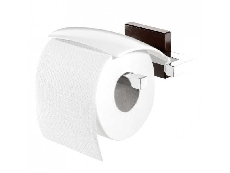 Tiger Zenna wieszak na papier toaletowy chrom/wenge 3516.83