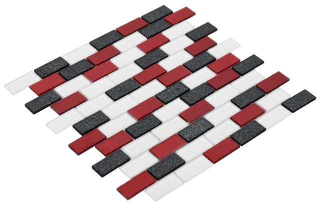 Goccia Crystal mozaika szklana 23x48 CR3012
