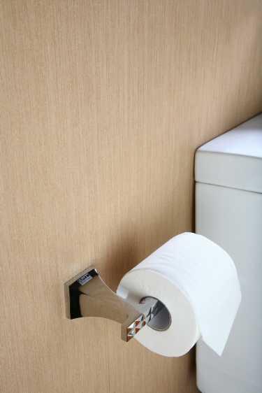 Art Platino Panama wieszak, uchwyt na papier toaletowy chrom PAN-86060