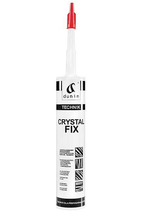 Dunin Crystal Fix klej do luster i szkła 290 ml