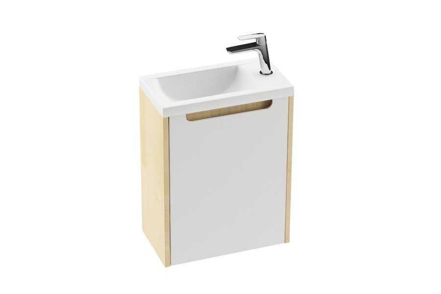Ravak umywalka Classic 400  biała z otworami XJD01140000