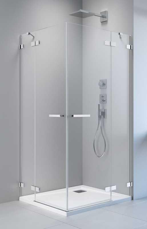 Kabina prysznicowa prostokątna Radaway Arta KDD II 100 x 80 szkło przejrzyste wys. 200 cm, 386455-03-01L/386172-03-01L/386420-03-01R/386170-03-01R