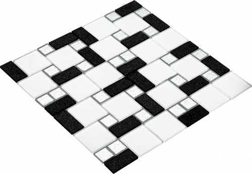 Goccia Crystal mozaika szklana BAROK 4016