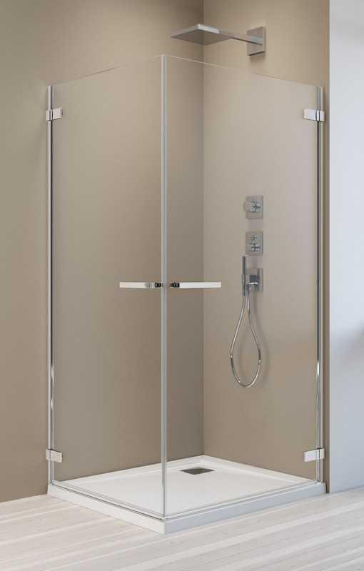 Kabina prysznicowa prostokątna Radaway Arta KDD I 80 x 90 szkło przejrzyste wys. 200 cm, 386060-03-01L/386061-03-01R