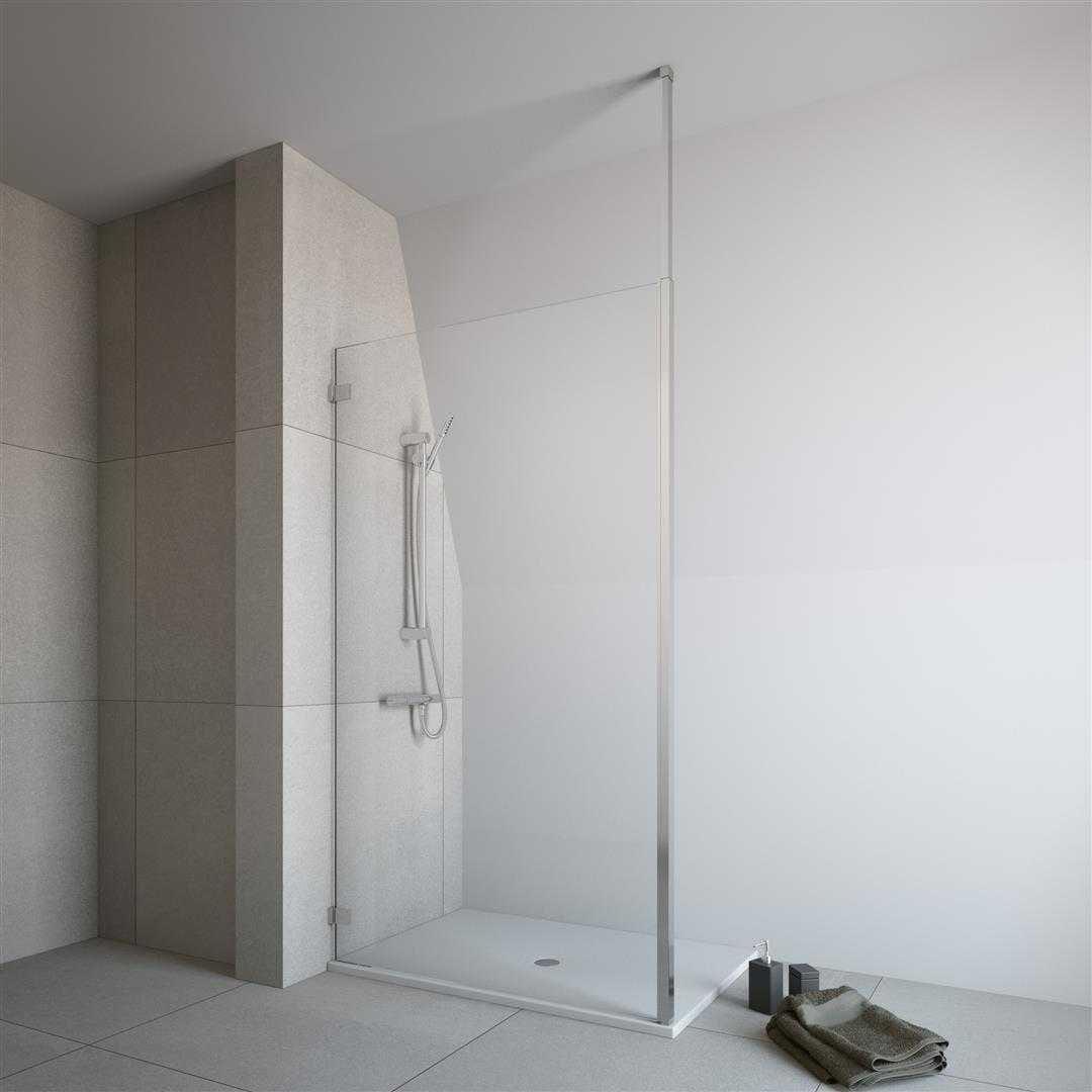 Kabina prysznicowa Walk-In Radaway Modo New III  - wspornik sufitowy