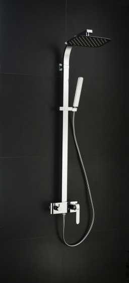Art Platino Emira zestaw prysznicowo-wannowy chrom EMI-ZKPN.400C