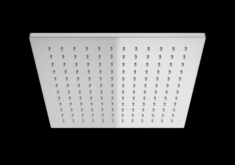 Kohlman deszczownica kwadratowa Q25  25x25 cm chrom