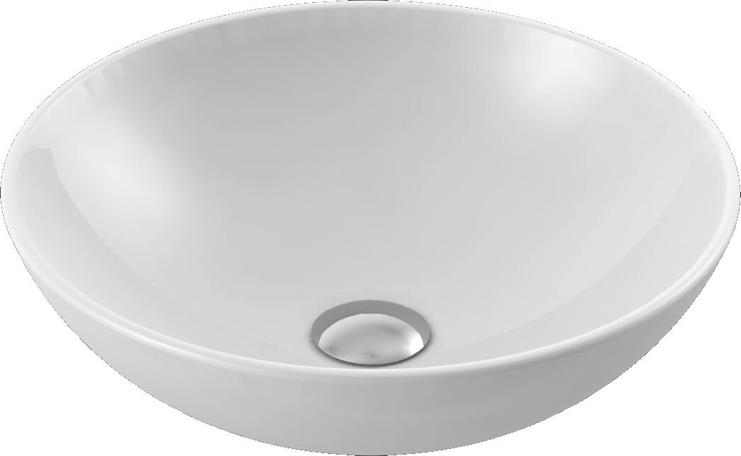 CeraStyle  umywalka nablatowa Zero,  Ø46 cm      071600-u