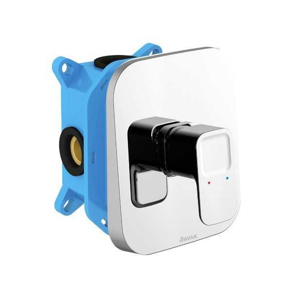 Ravak  bateria podtynkowa bez przełącznika do R-Box 10° ( 10 stopni)  X070071     TD 066.00