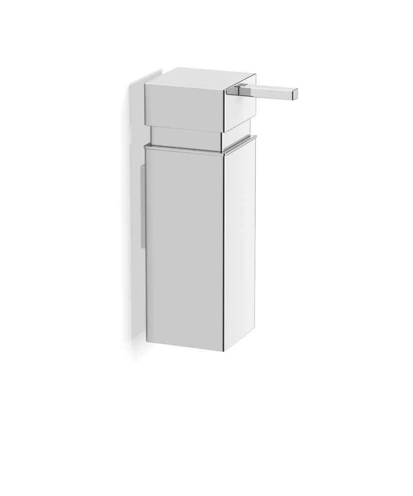 Stella dozownik do mydła w płynie 0,25L, kwadratowy, mocowanie Lift & Clean 17.005