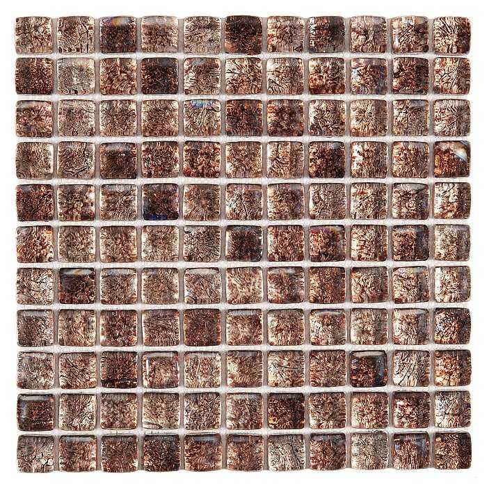 DUNIN Fat Cube mozaika szklana Almond mix 25