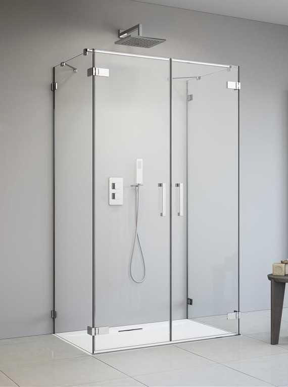 Kabina Radaway Arta DWD+2S drzwi 90 cm x 2 ścianki 100 cm, szkło przejrzyste wys. 200 cm, 386051-03-01L/386051-03-01R/386112-03-01/386112-03-01