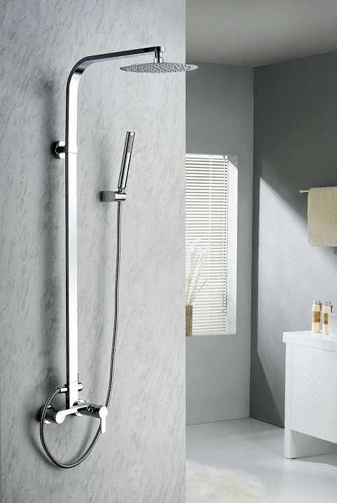 Blue Water Gala zestaw kabinowo-prysznicowy natynkowy chrom GAL-ZKPN. 400C