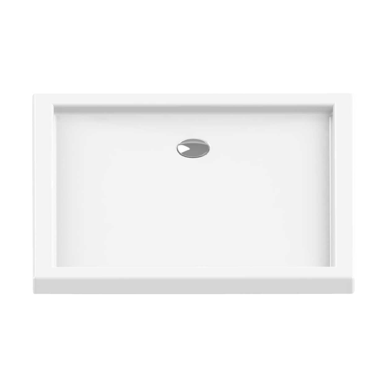 New Trendy |  Brodzik CANTARE 110 x 80 x 6 cm    B-0324