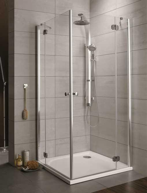 Kabina prysznicowa kwadratowa Radaway Torrenta KDD 90 x 90 szkło Carre wys. 185 cm. 32252-01-10N