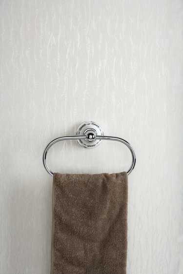 Art Platino Nikolas wieszak na ręczniki owalny chrom NIK-57047
