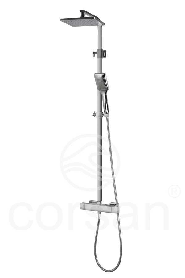 Corsan kolumna prysznicowa z termostatem ADOUR CMN003