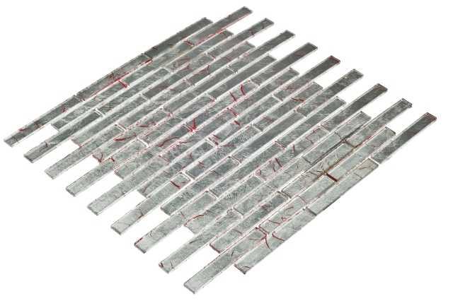 Goccia Crystal mozaika szklana 30 x30,5 cm      CR1109
