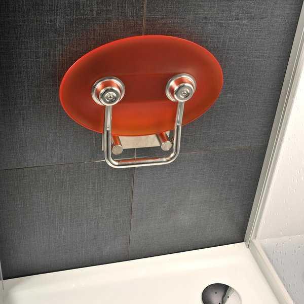 Ravak siedzisko prysznicowe Ovo P orange (pomarańczowy) B8F0000005