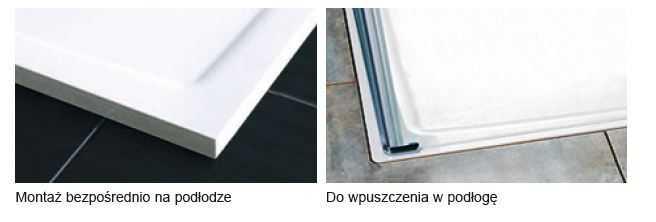 Ravak prostokątny brodzik 100x80 Gigant Pro Flat, biały XA03A411010