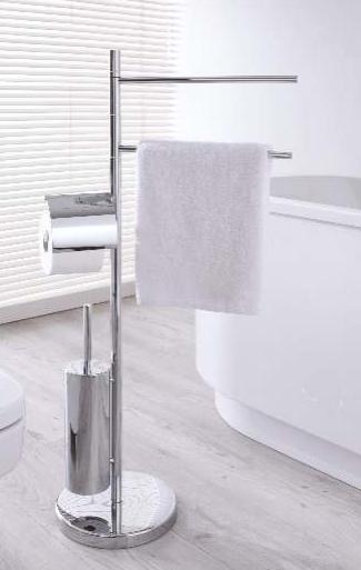 Stella Stojak na ręczniki + papier toaletowy + szczotkę wc 19.203