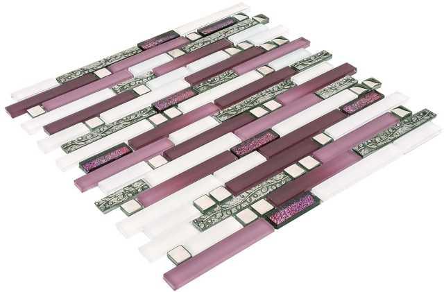 Goccia Crystal mozaika szklana MIX 30 x30,5 cm      DC1039