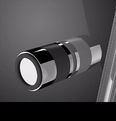 Kabina prysznicowa trójścienna 80x110x80 Radaway EOS II - uchwyt czarny