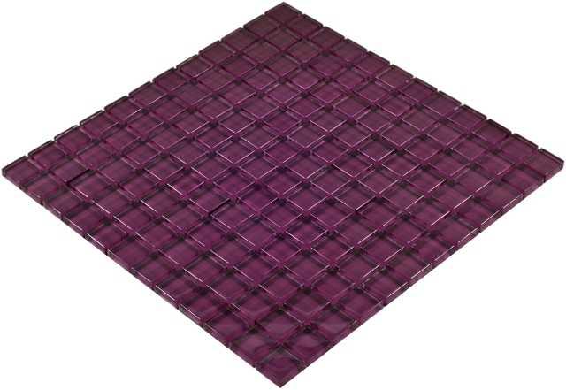 Goccia Color Line mozaika szklana fioletowa,  30x30 cm      CLS1606