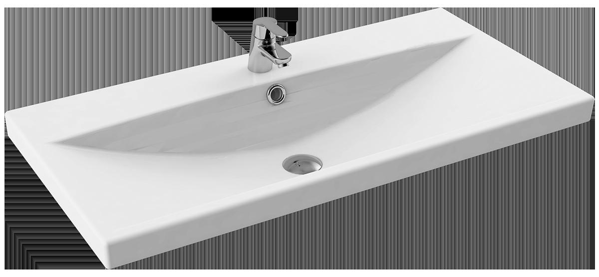 CeraStyle  umywalka Elite, 90 cm 032300-u