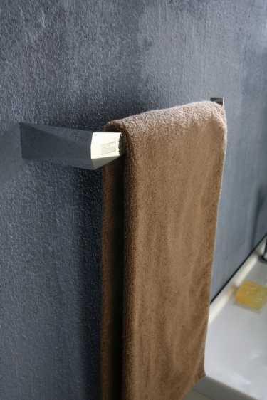 Art Platino Rok reling, wieszak na ręczniki prostokątny chrom ROK-87040