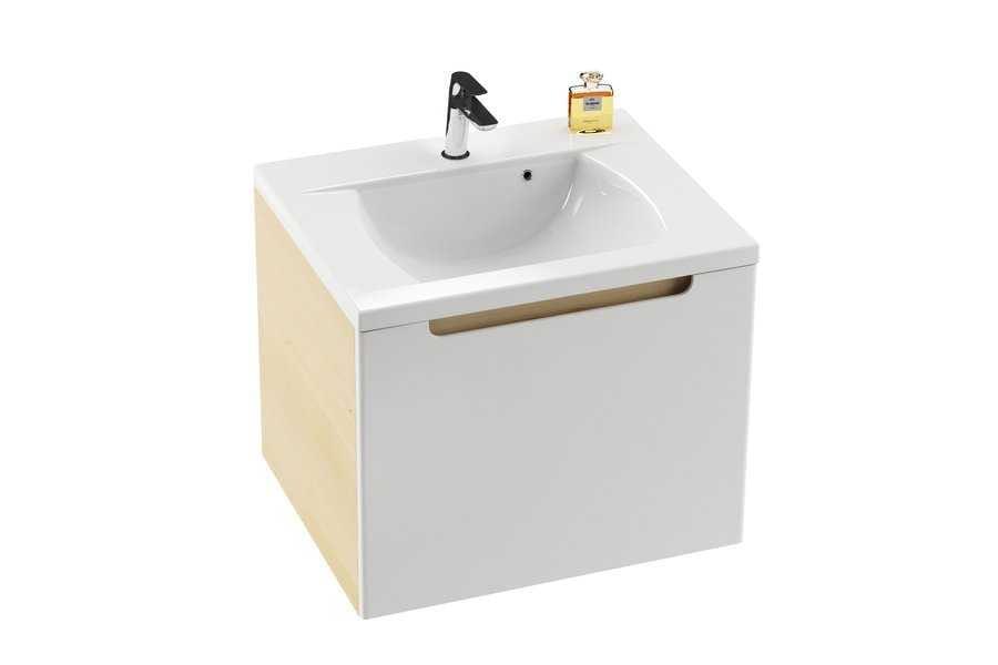 Ravak umywalka Classic 600  biała z otworami XJD01160000