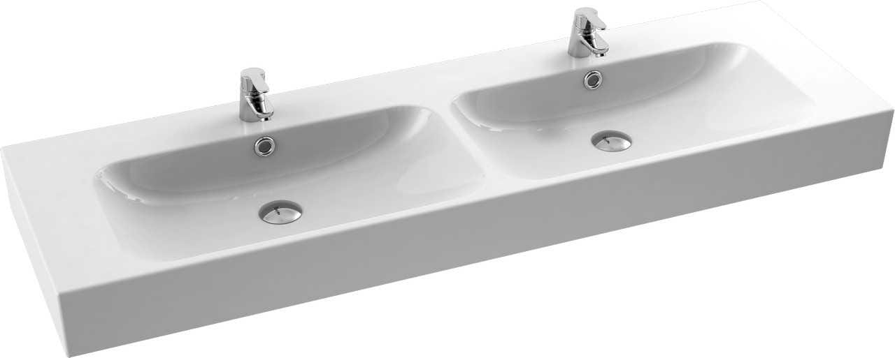 CeraStyle  umywalka podwójna Pinto, 150 cm      080900-u