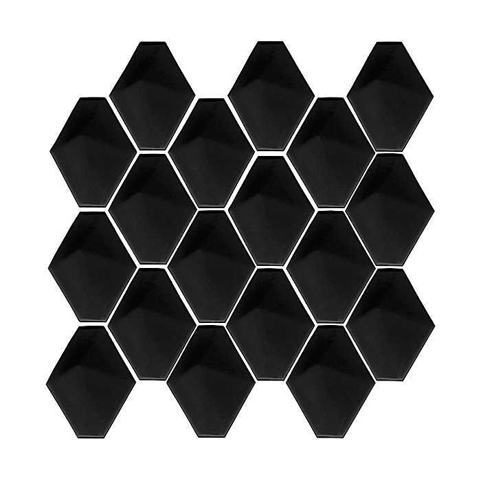 DUNIN Mini Carat Black mozaika ceramiczna