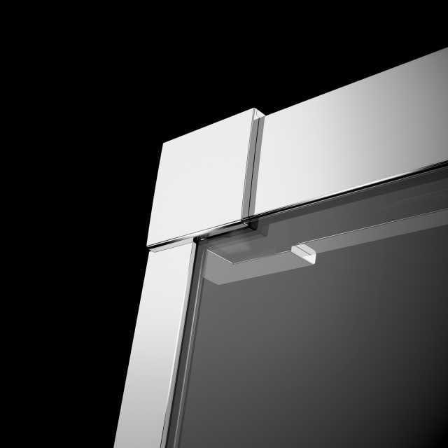 Kabina prysznicowa przyścienna Radaway Idea KDJ  - profil przyścienny