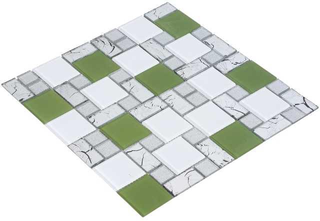 Goccia Crystal Barok mozaika szklana 30 x30 ,5cm      4028