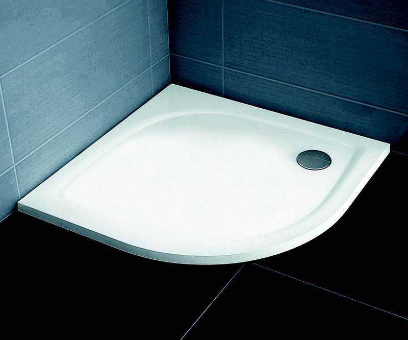 Ravak brodzik prysznicowy niski Elipso Pro Flat 90 biały  XA237711010
