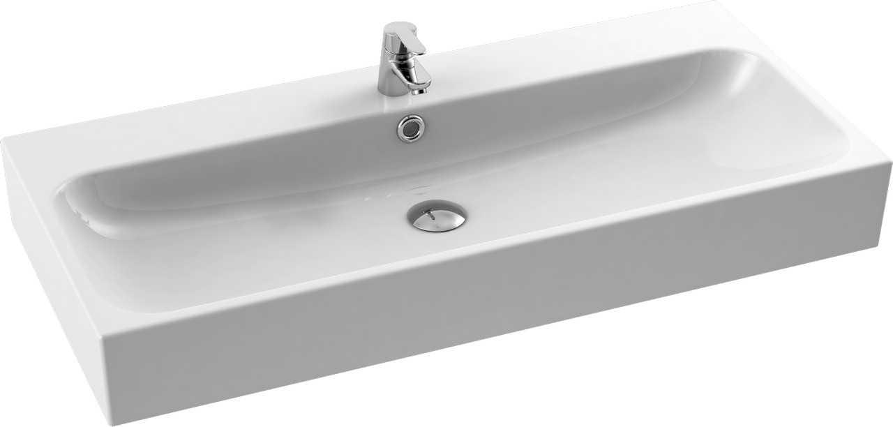 CeraStyle  umywalka Pinto, 100 cm  080300-u/U-0078