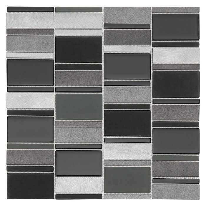 DUNIN  Allumi Piano Grey mozaika metalowa