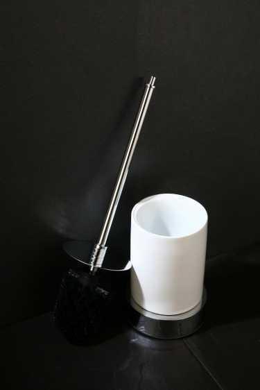 Art Platino Liwio szczotka WC stojąca chrom LIW-56091
