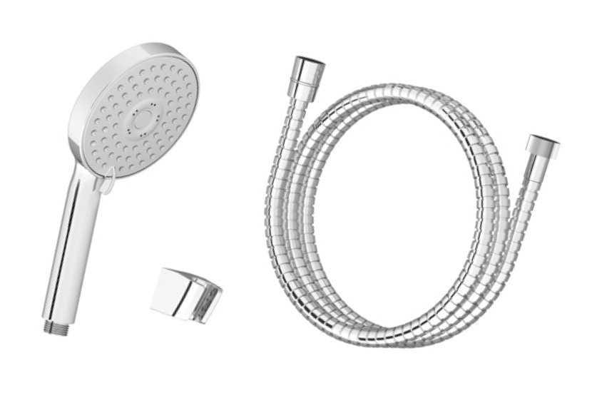 Ravak  zestaw wannowy-wąż 150cm, słuchawka Flat M, uchwyt  903.00 X07S006
