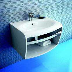 RAVAK umywalka Evolution 700 x 550mm biała, z otworami   XJE01100000