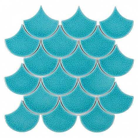 DUNIN mozaika ceramiczna MINI FISH SCALE BALI 88